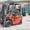 Газ - бензиновый автопогрузчик Nissan J01A15 Грузоподъемностью 1, 5 тонны #1061619