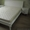 Кровать белая деревянная #1047081