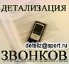 Услуга Детализация звонков с оплатой по факту выполнения (В Одесской области)
