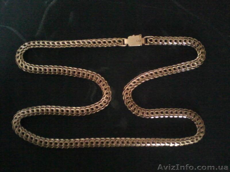 Золотая цепь плетения кардинал
