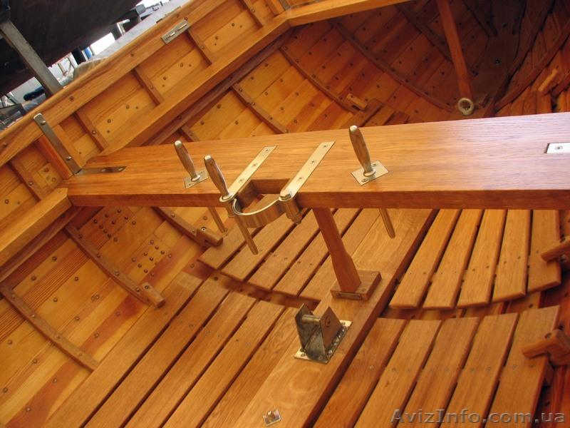 лодка деревянная ялик