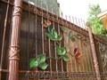 Ворота кованные и сварные,  изделия из металла.