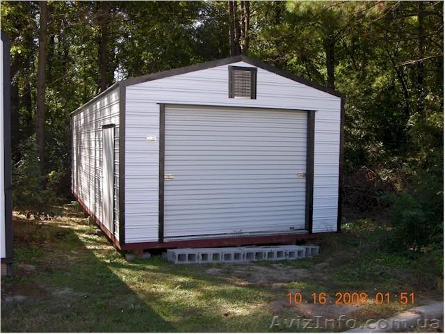 создали сборный гараж для дачи сочетание