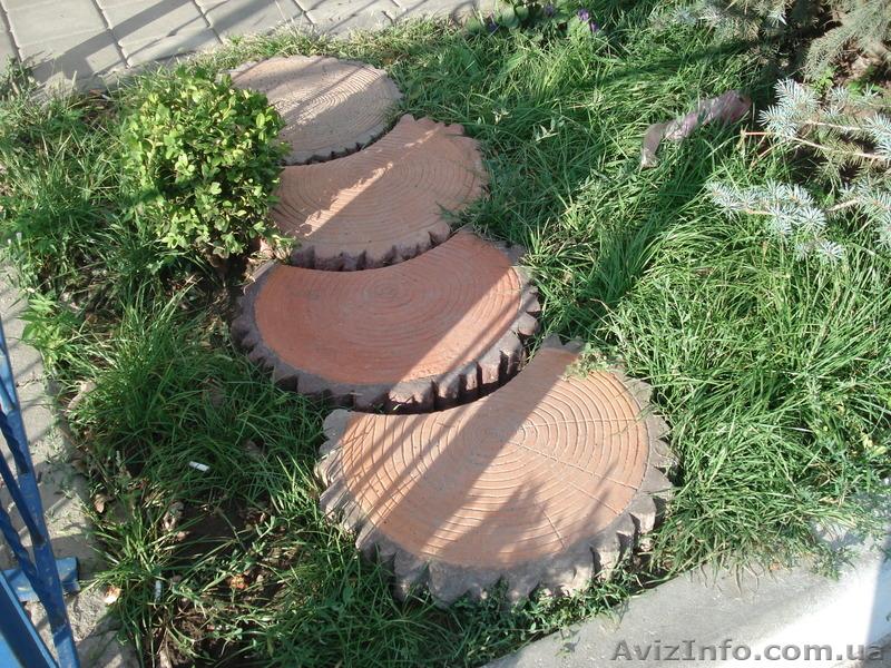 Вазон из тротуарной плитки