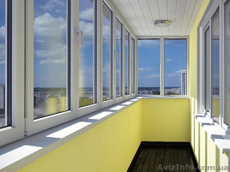 Расширение и остекление балконов и лоджий под ключ в одессе,.