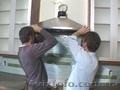 Установка вытяжки на кухне в Одессе.