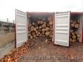 Погрузка леса в контейнера