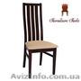 Стул деревянный с мягким сиденьем,  Стул Андра
