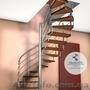 Винтовая лестница под ключ