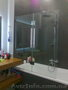 Стеклянные шторы для ванной под заказ