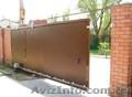 Откатные ворота Одесса производство и установка