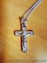 Продам крестик на цепочке под серебро