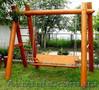 Садовые качели из бревен, Объявление #1617351